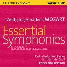 Wolfgang Amadeus Mozart (1756-1791): Symphonien Nr.1,8,12,19,22,25,28,29,31-35,36,38-41, 6 CDs