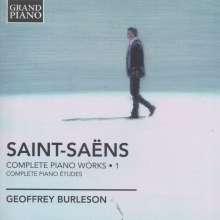 Camille Saint-Saens (1835-1921): Sämtliche Klavierwerke Vol.1, CD