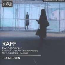 Joachim Raff (1822-1882): Klavierwerke Vol.1, CD
