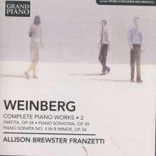 Mieczyslaw Weinberg (1919-1996): Sämtliche Klavierwerke Vol.2, CD