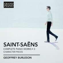 Camille Saint-Saens (1835-1921): Sämtliche Klavierwerke Vol.3, CD