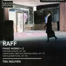 Joachim Raff (1822-1882): Klavierwerke Vol.2, CD