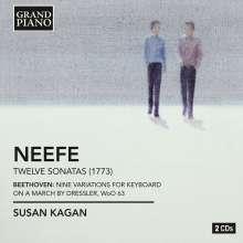 Christian Gottlob Neefe (1748-1798): Klaviersonaten Nr.1-12, 2 CDs