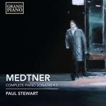 Nikolai Medtner (1880-1951): Sämtliche Klaviersonaten Vol.1, CD