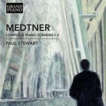 Nikolai Medtner (1880-1951): Sämtliche Klaviersonaten Vol.2, CD