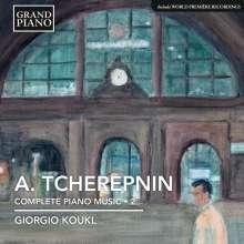 Alexander Tscherepnin (1899-1977): Sämtliche Klavierwerke Vol.2, CD