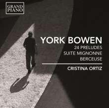 York Bowen (1884-1961): Preludes op.102 Nr.1-24, CD