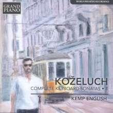 Leopold Kozeluch (1747-1818): Sämtliche Sonaten für Tasteninstrumente Vol.1, CD