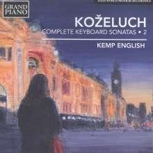 Leopold Kozeluch (1747-1818): Sämtliche Sonaten für Tasteninstrumente Vol.2, CD