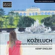 Leopold Kozeluch (1747-1818): Sämtliche Sonaten für Tasteninstrumente Vol.6, CD