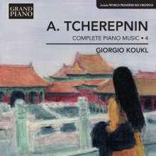 Alexander Tscherepnin (1899-1977): Sämtliche Klavierwerke Vol.4, CD