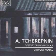 Alexander Tscherepnin (1899-1977): Sämtliche Klavierwerke Vol.5, CD