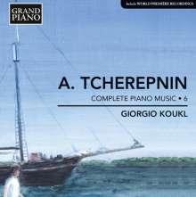 Alexander Tscherepnin (1899-1977): Sämtliche Klavierwerke Vol.6, CD
