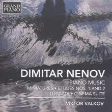 Dimitar Nenov (1902-1953): Klavierwerke, CD