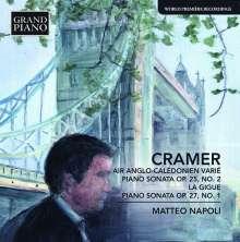 """Johann Baptist Cramer (1771-1858): Klaviersonaten op.25 Nr.2,op.27 Nr.1,op.39 Nr.3 """"La Gigue"""", CD"""