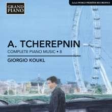 Alexander Tscherepnin (1899-1977): Sämtliche Klavierwerke Vol.8, CD