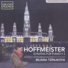 Franz Anton Hoffmeister (1754-1812): Klaviersonaten Vol.3, CD