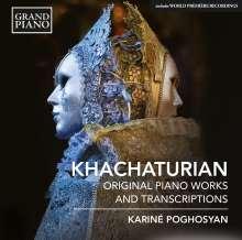 Aram Khachaturian (1903-1978): Klavierwerke & Transkriptionen, CD