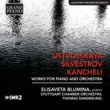 Galina Ustvolskaya (1919-2007): Konzert für Klavier,Streicher,Pauken, CD