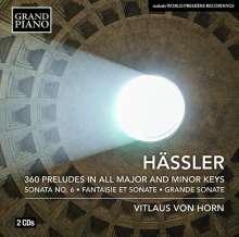 Johann Wilhelm Hässler (1747-1822): Klavierwerke, 2 CDs