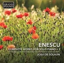 George Enescu (1881-1955): Sämtliche Klavierwerke Vol.2, CD