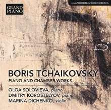 Boris Tschaikowsky (1925-1996): Klavierwerke, CD