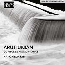 Alexander Arutiunian (1920-2012): Sämtliche Klavierwerke, CD
