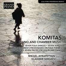 Komitas (1869-1935): Klavierwerke & Kammermusik, CD