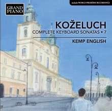 Leopold Kozeluch (1747-1818): Sämtliche Sonaten für Tasteninstrumente Vol.7, CD