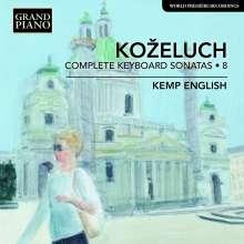 Leopold Kozeluch (1747-1818): Sämtliche Sonaten für Tasteninstrumente Vol.8, CD