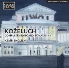 Leopold Kozeluch (1747-1818): Sämtliche Sonaten für Tasteninstrumente Vol.11, CD