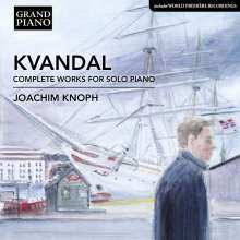 Johan Kvandal (1919-1999): Sämtliche Klavierwerke, CD