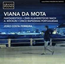 Jose Viana da Mota (1868-1948): Klavierwerke, CD