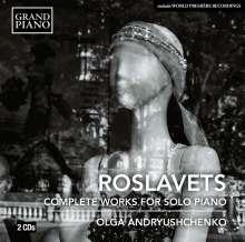 Nikolaj Roslavets (1881-1944): Sämtliche Klavierwerke, 2 CDs