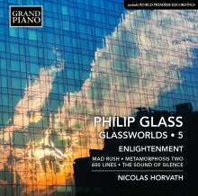 "Philip Glass (geb. 1937): Klavierwerke ""Glassworlds 5"", CD"