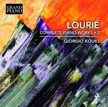 Arthur Lourie (1892-1966): Sämtliche Klavierwerke Vol.2, CD