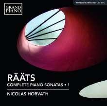 Jaan Rääts (geb. 1932): Sämtliche Klaviersonaten Vol.1, CD