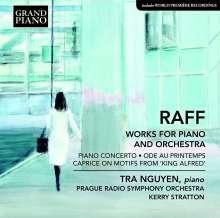Joachim Raff (1822-1882): Werke für Klavier & Orchester, CD