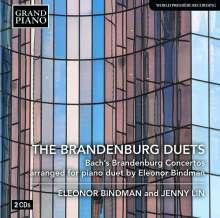 Eleonor Bindman & Jenny Lin - The Brandenburg Duets, 2 CDs