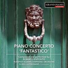 Roberto Esposito (geb. 1984): Klavierkonzert Nr.1, CD