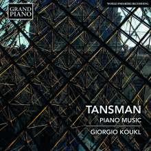 Alexandre Tansman (1897-1986): Klavierwerke, CD