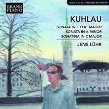 Friedrich Kuhlau (1786-1832): Klaviersonaten opp.8a & 127, CD