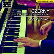 Carl Czerny (1791-1857): 30 Etudes de Mecanisme op.849, CD