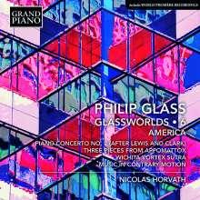 """Philip Glass (geb. 1937): Klavierwerke """"Glassworlds 6"""", CD"""