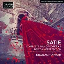 Erik Satie (1866-1925): Sämtliche Klavierwerke Vol.4, CD