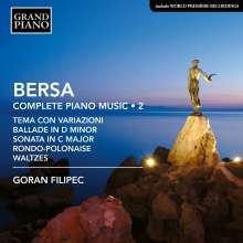 Blagoje Bersa (1873-1934): Klavierwerke Vol. 2, CD