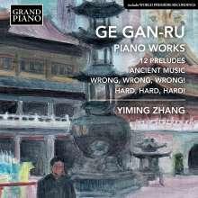 Ge Gan-Ru (geb. 1954): Klavierwerke, CD