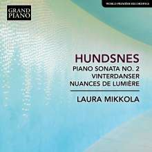 Svein Hundsnes (geb. 1951): Klaviersonate Nr.2, CD