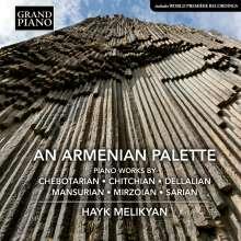 Hayk Melikyan - An Armenian Palette, CD