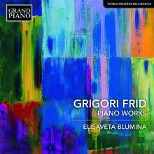 Grigori Frid (1915-2012): Klavierwerke, CD
